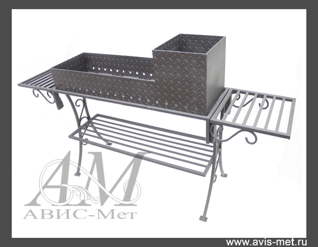 Раскладной мангал-чемодан и мангал-дипломат из металла 21