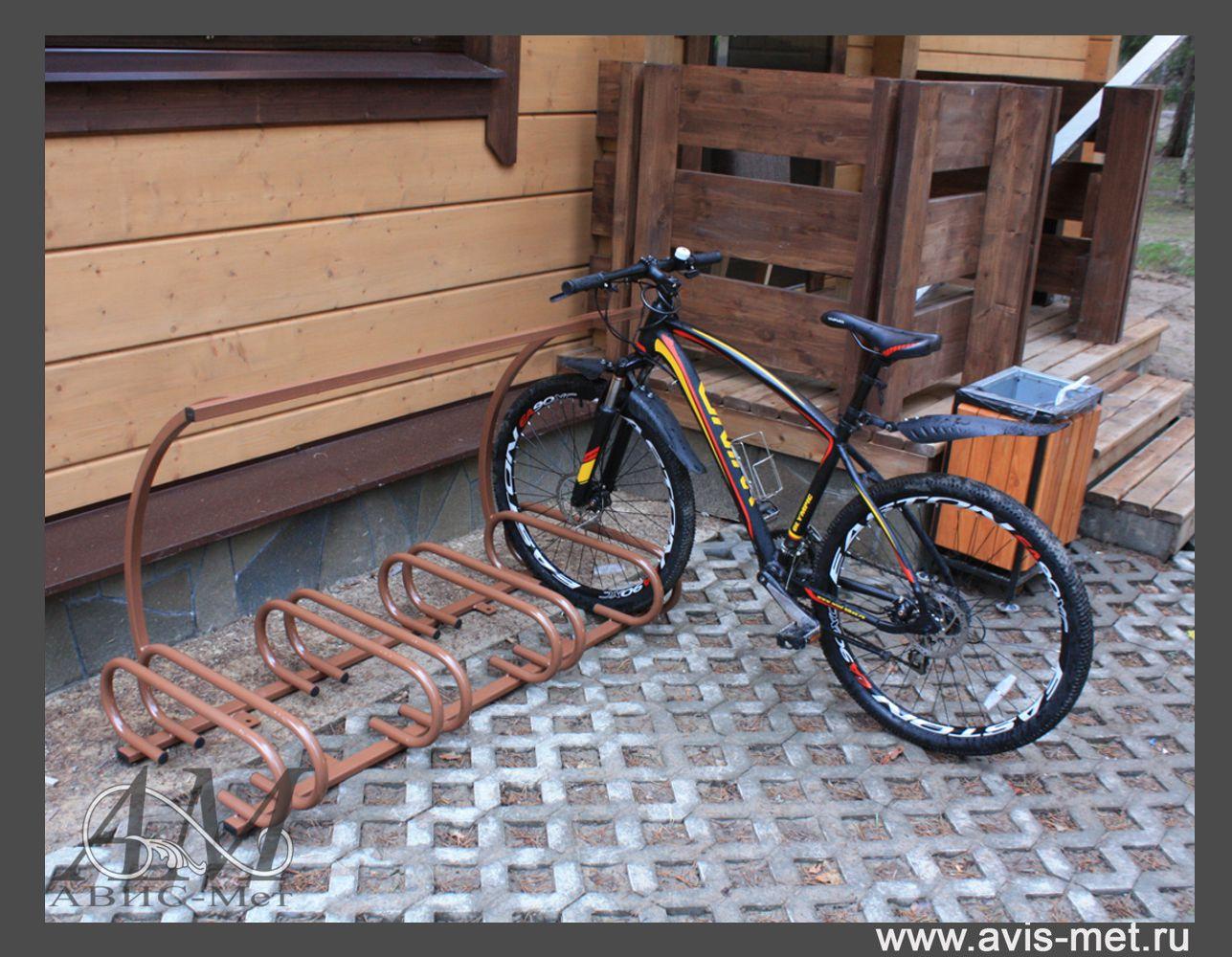 Стоянка для велосипедов своими руками 72